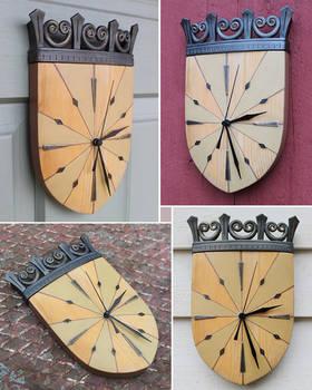 Wall clock 1 by Astalo