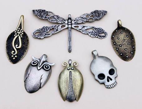 Spoon pendants 4
