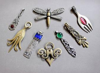 Spoon pendants 5 by Astalo