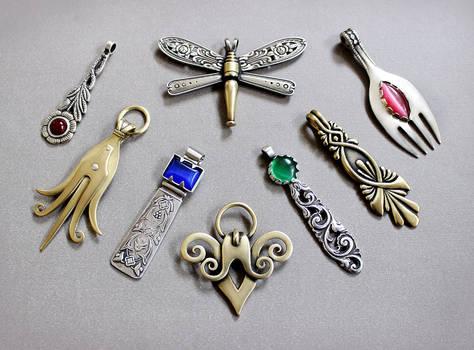 Spoon pendants 5