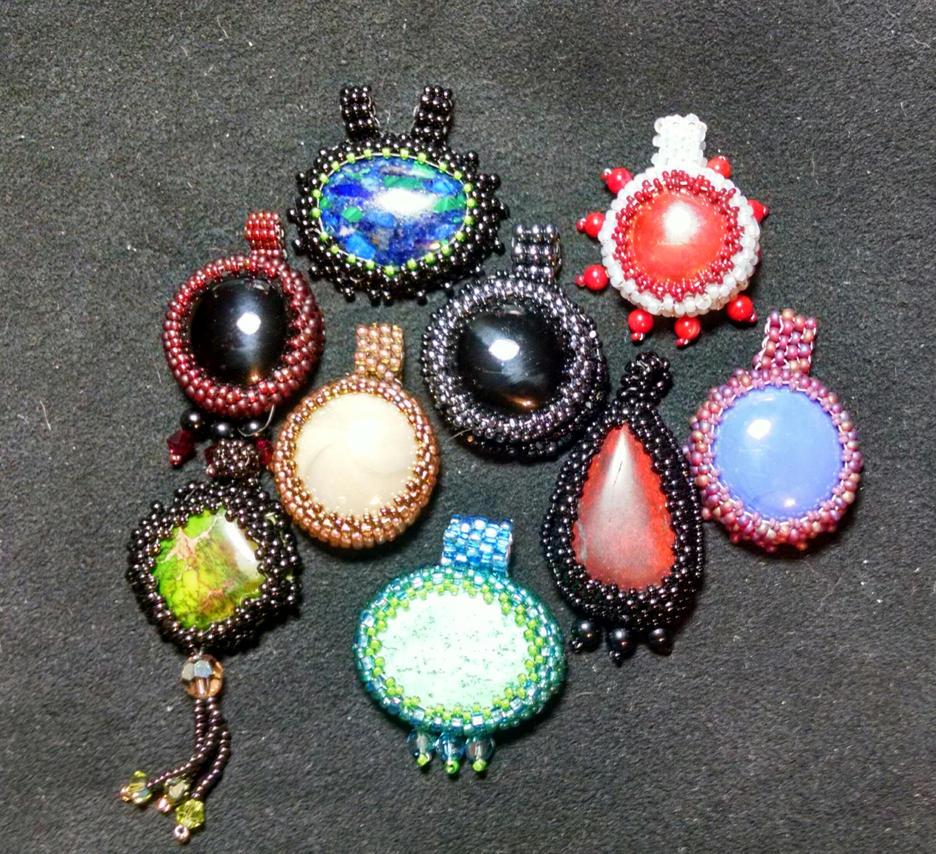9 pendants by MountainInspirations