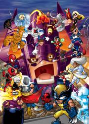 Marvel Ultimate Alliance SD-c by DRa90NBoi