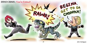 Dino Crisis: You're Extinct 01