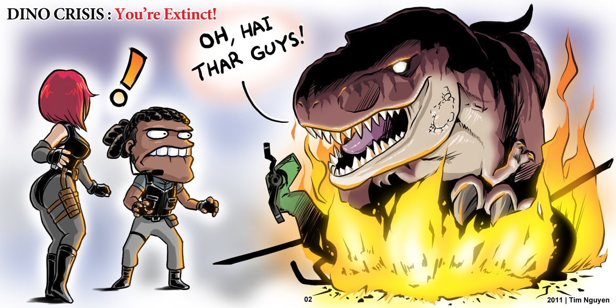 Dino Crisis: You're Extinct 02 by DRa90NBoi