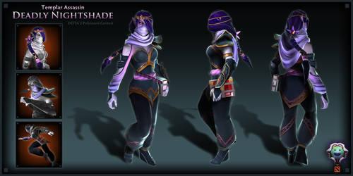 Dota 2 - Templar Assassin - Deadly Nightshade