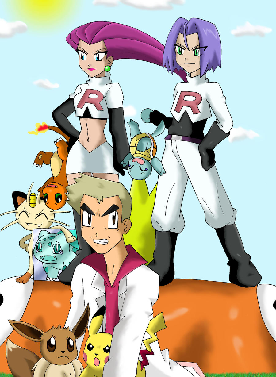 Team Rocket: Prepare for trouble, Make it double by ...