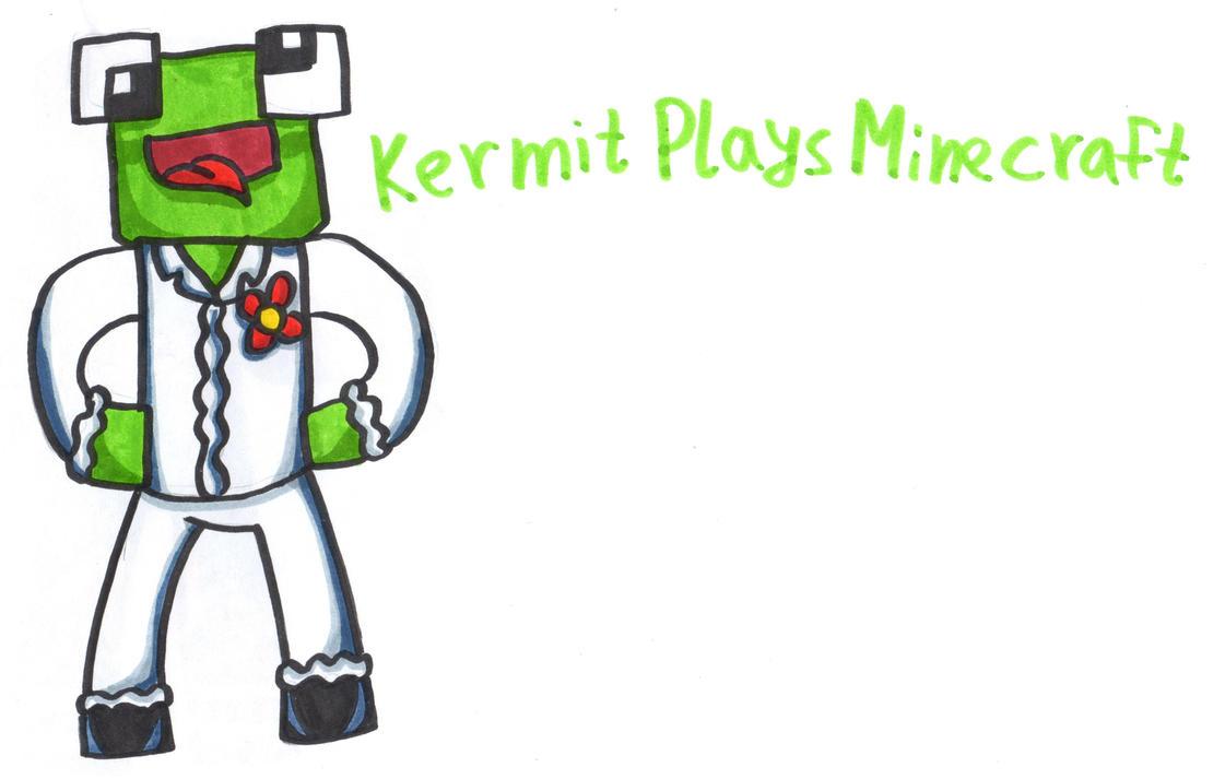 KermitPlaysMinecraft by YouCanDrawIt