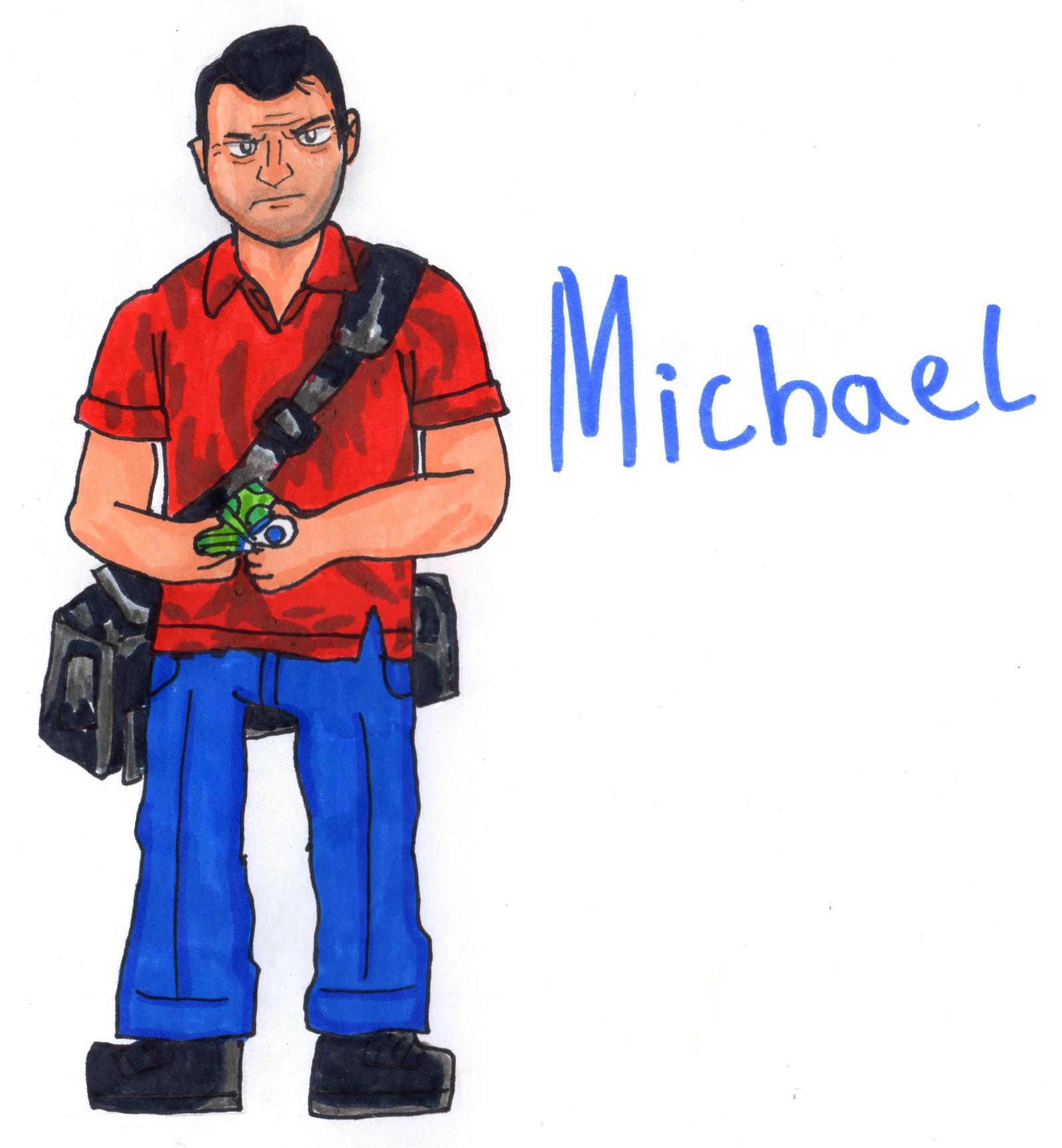 gta 5 michael drawing - photo #27