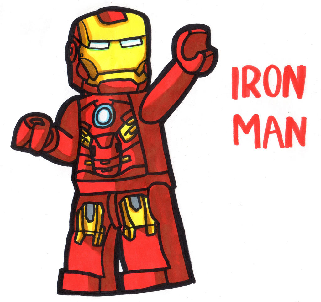 Iron Man Lego by YouCanDrawIt on DeviantArt