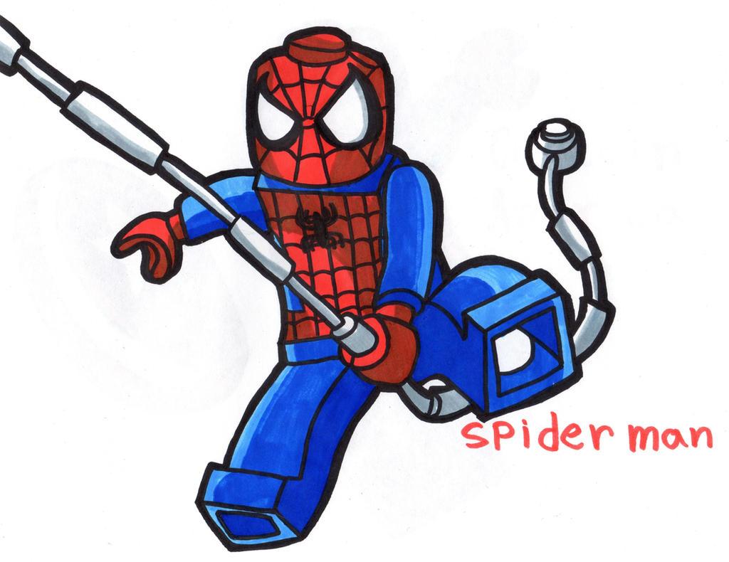 Lego Spiderman Ausmalbilder Genial Lego Spiderman: Spider-Man Lego By YouCanDrawIt On DeviantArt