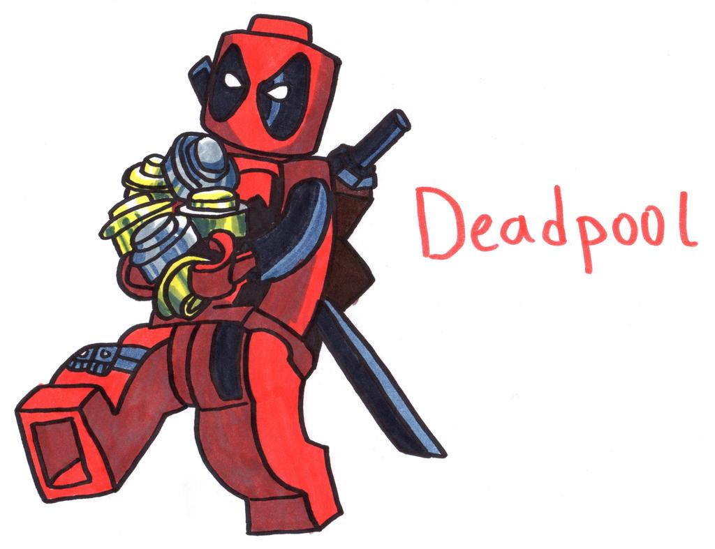 deadpool lego by youcandrawit deadpool lego by youcandrawit