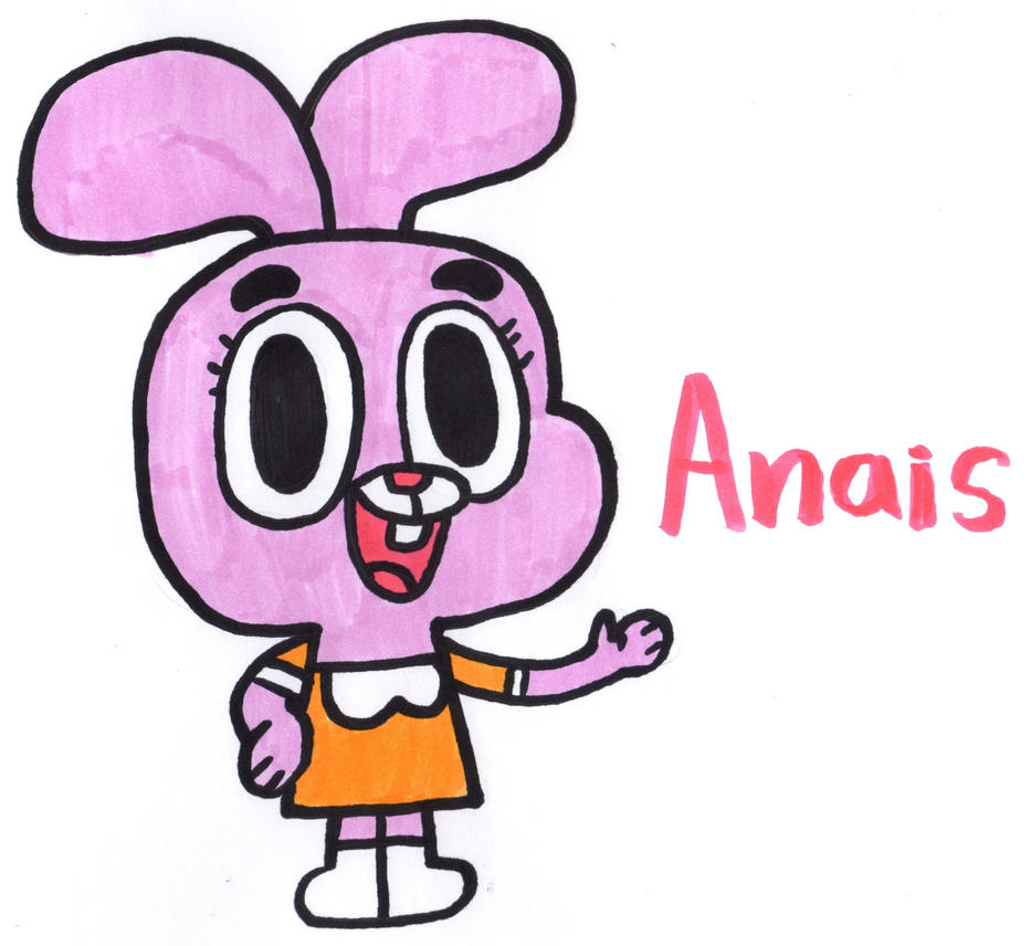 Anais Watterson by YouCanDrawIt