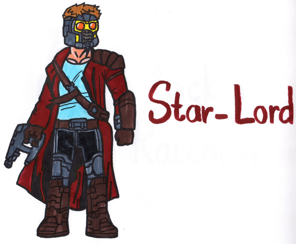 Star Lord And Rocket Raccoon By Timothygreenii On Deviantart: Star-Lord By YouCanDrawIt On DeviantArt