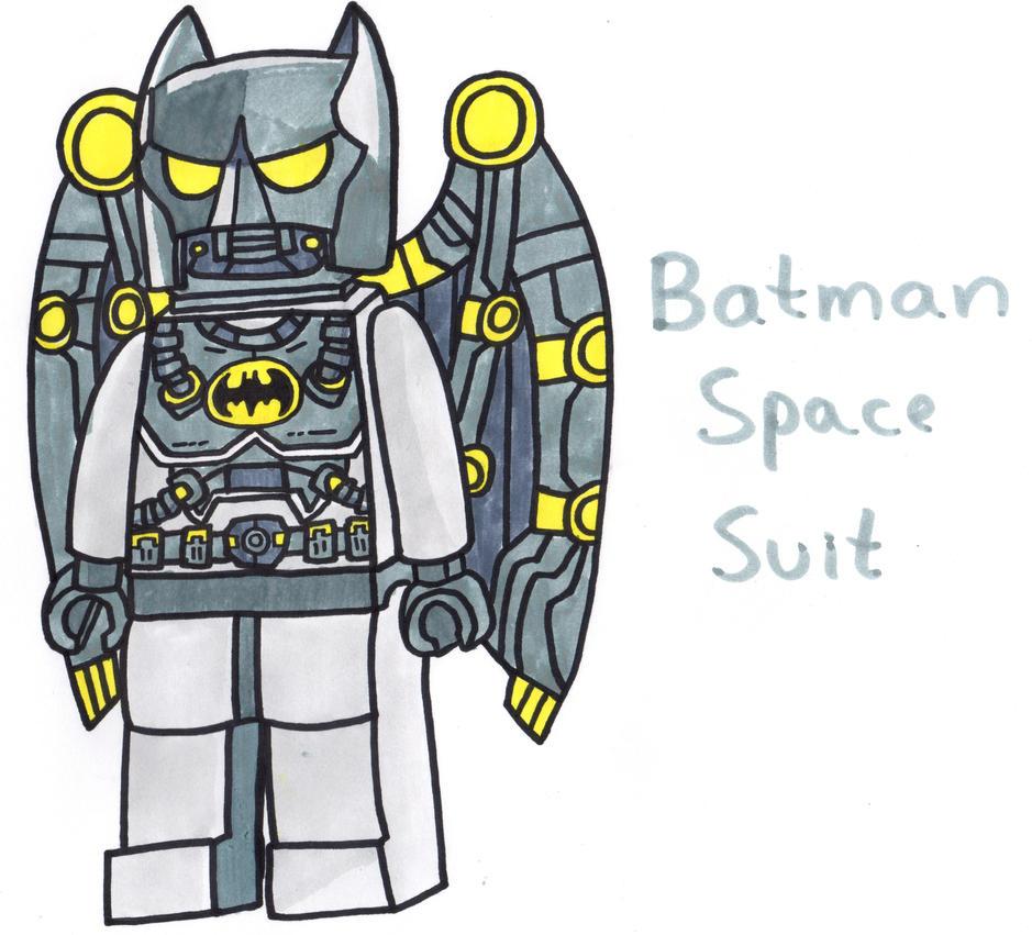 lego batman space suit by youcandrawit