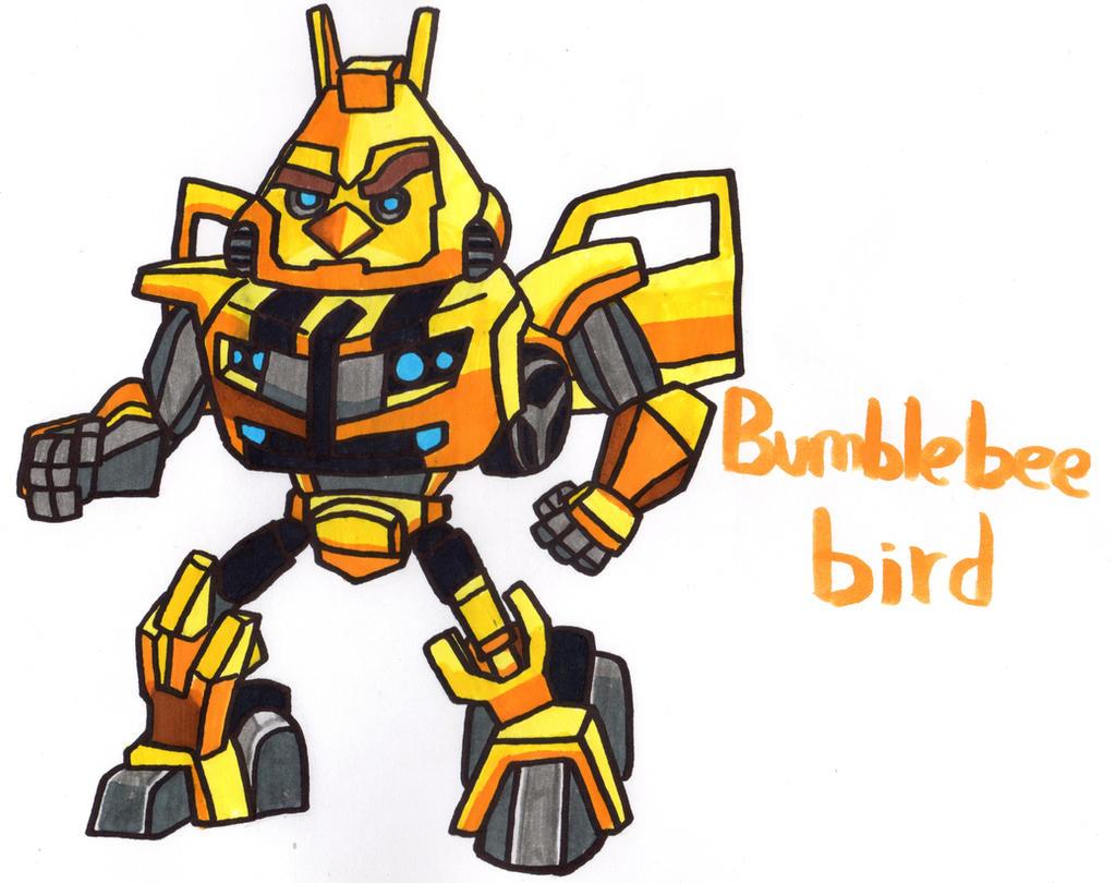 bumblebee bird by youcandrawit on deviantart
