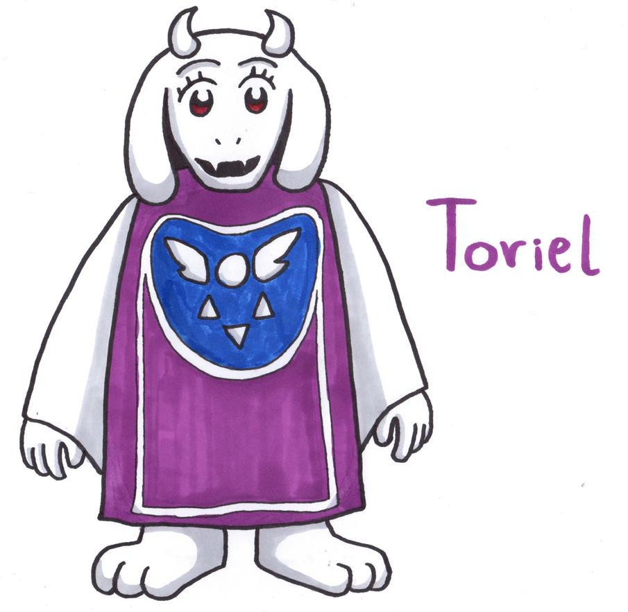 Toriel by YouCanDrawIt