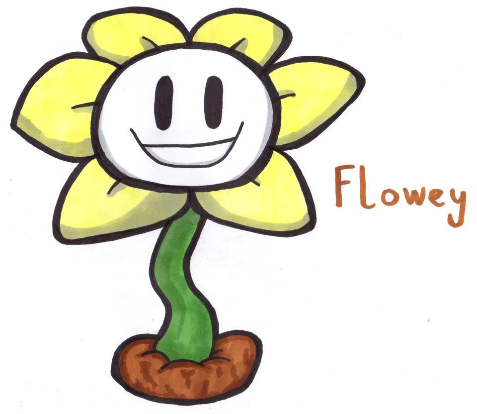 Flowey by YouCanDrawIt