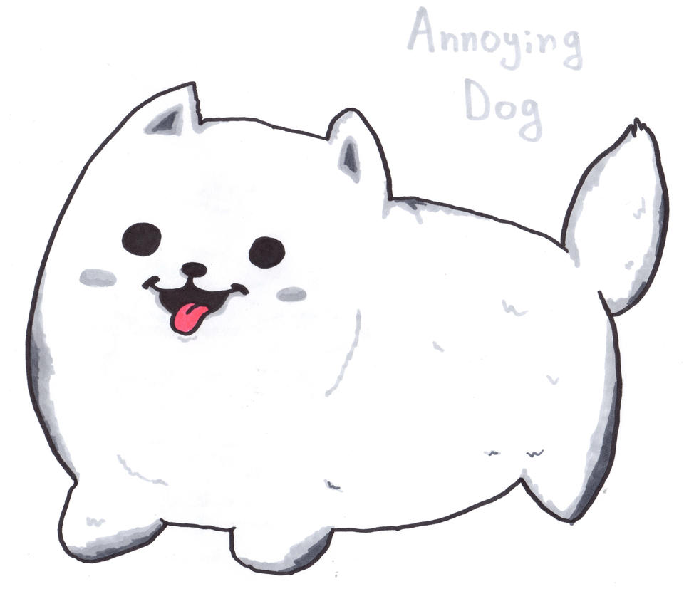 Annoying Dog by YouCanDrawIt