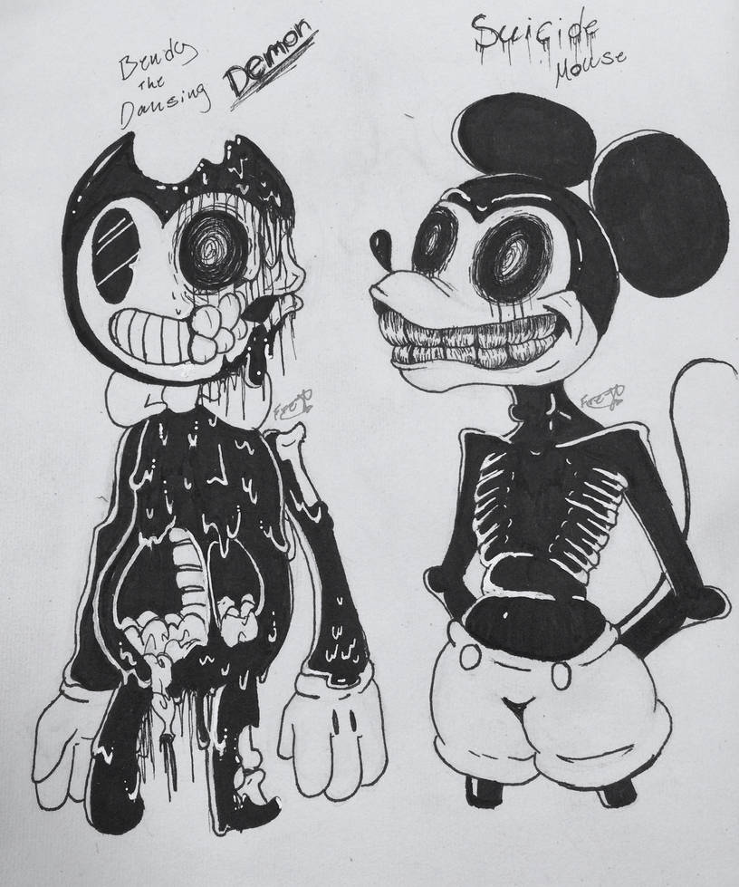 Bendy and suicide mouse
