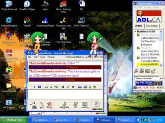 Kawaii Desktop-chan by crazystar