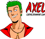 Axel from Crazy Taxi