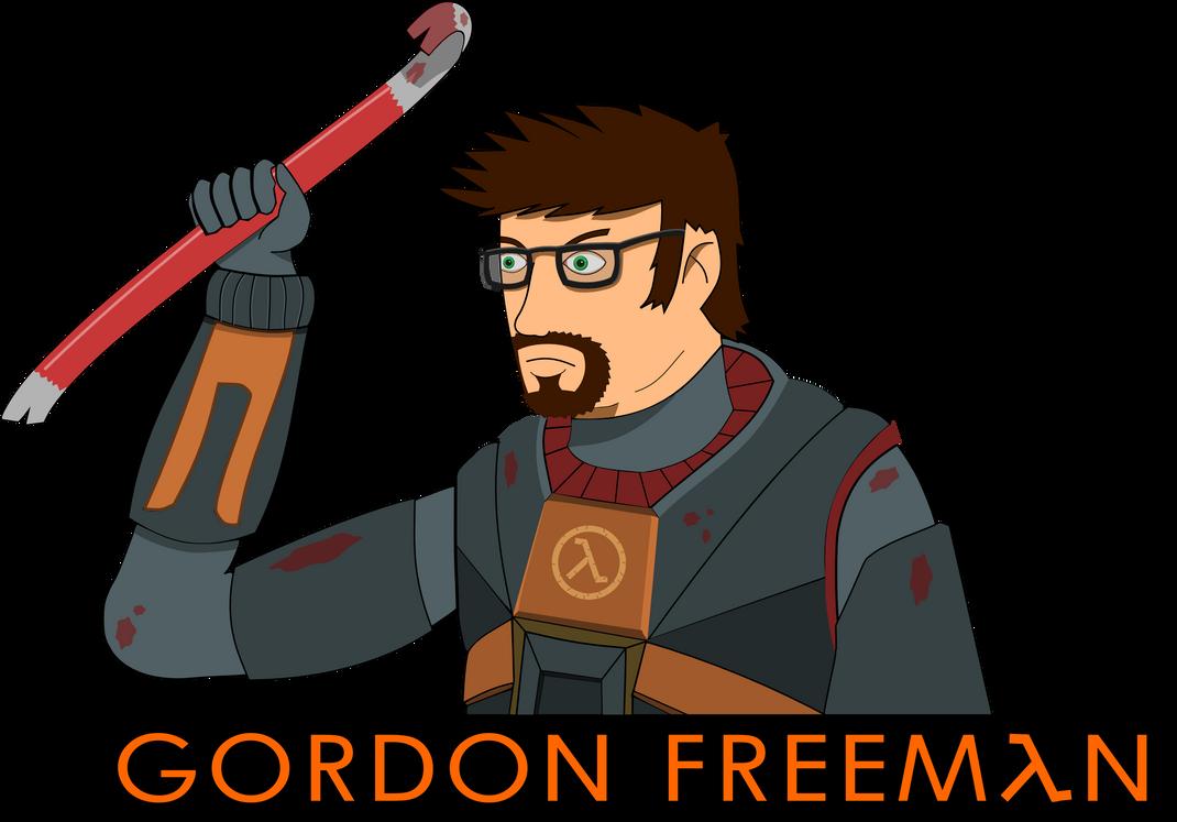 Gordon Freeman With Cake
