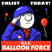 N.E.S. Balloon Force v2 by CortatG