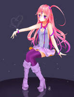 Nightcore-AudiiChan Outfit Design by Kitterie