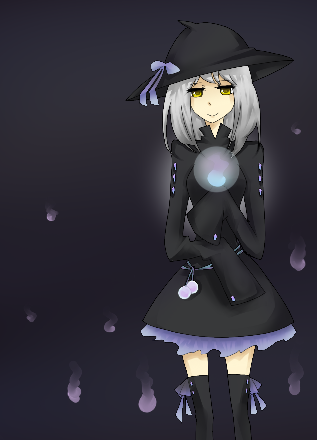Lampent gijinka by Kynarii on DeviantArt