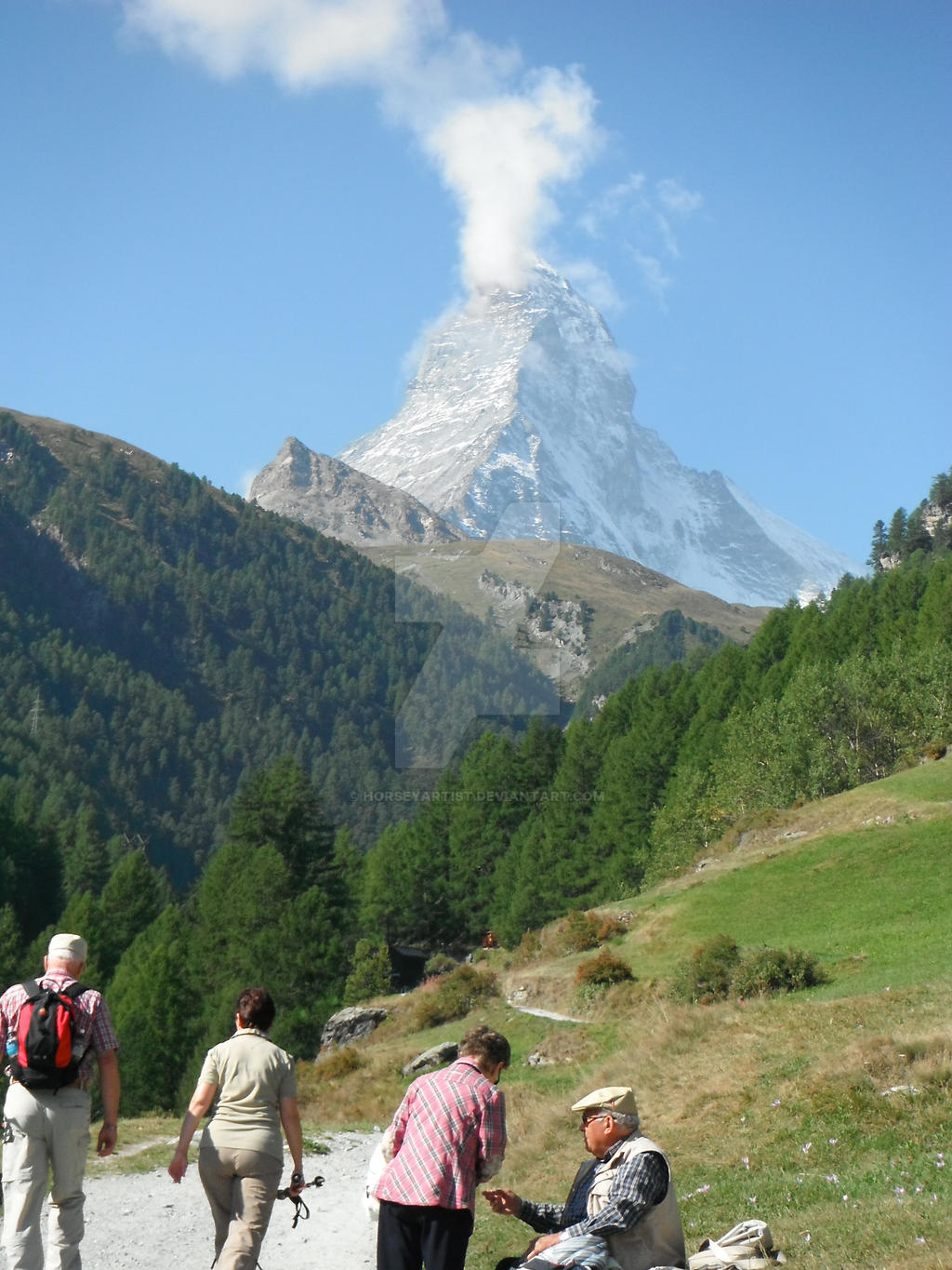 Matterhorn on a walk by HorseyArtist