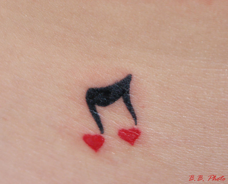 i love music images. i love music tattoos. music