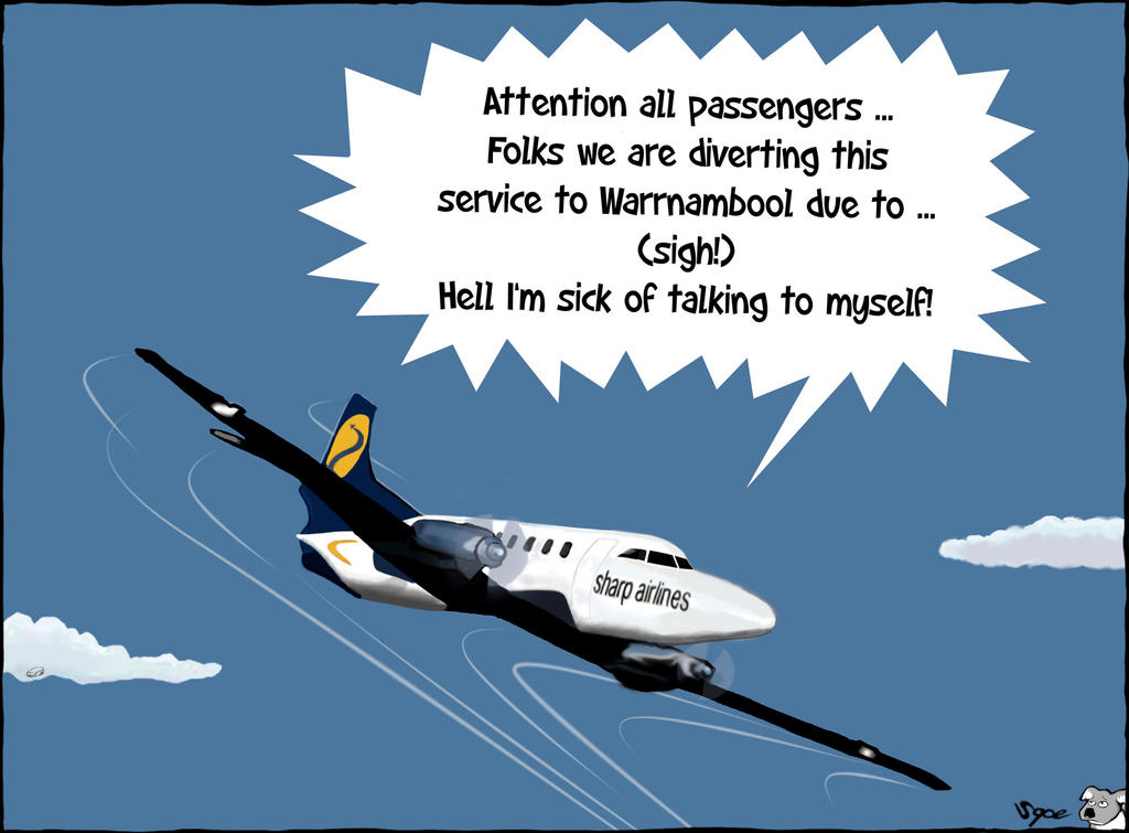 Service diverted by Sopecartoons