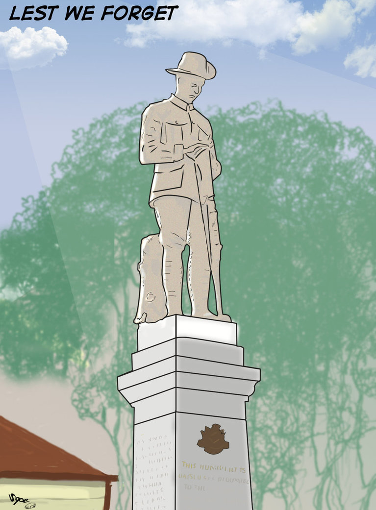 ANZAC Day by Sopecartoons
