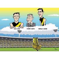 Richmond Tigers Finals Banner by Sopecartoons