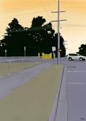 Streetscape by Sopecartoons