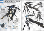 PGs 3 and 4 BRS Artbook