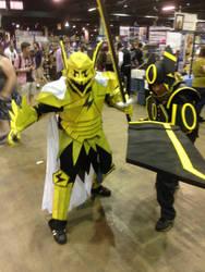 Jolteon and Umbreon Warriors