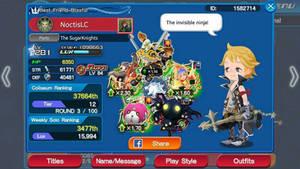 Kingdom Hearts Union X: Prompto Argentum