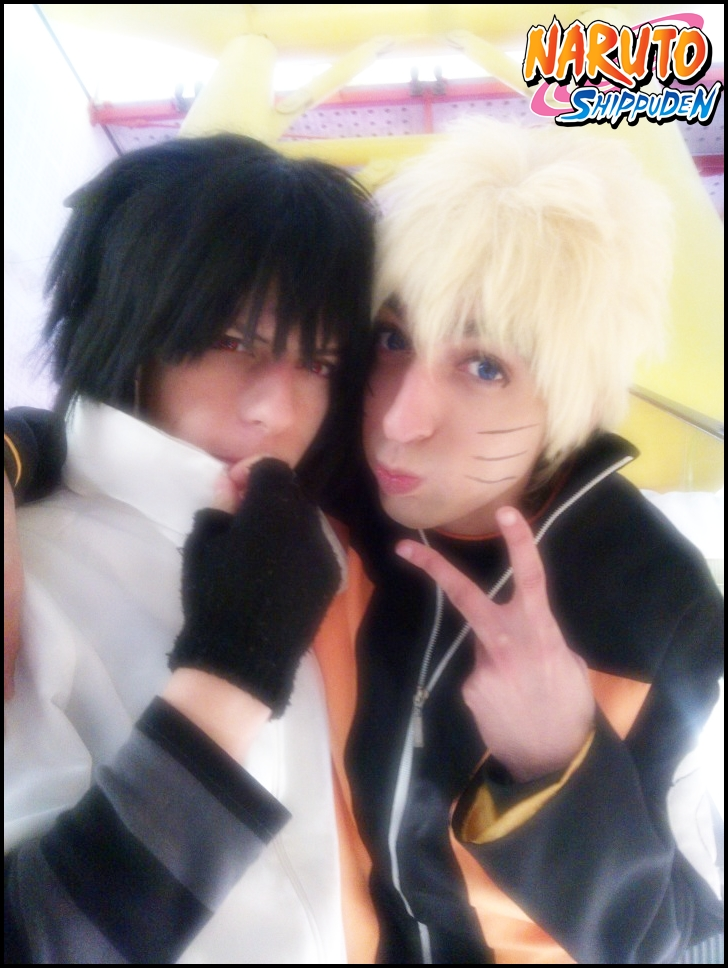 Friends~ Uzumaki Naruto and Uchiha Sasuke by Naruto-Cosplay-Cadiz