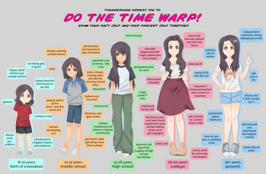 Time Warp Meme: Rilakkaze by rilakkaze