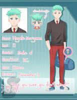 Ikehara App: Hayate Moriyama by rilakkaze