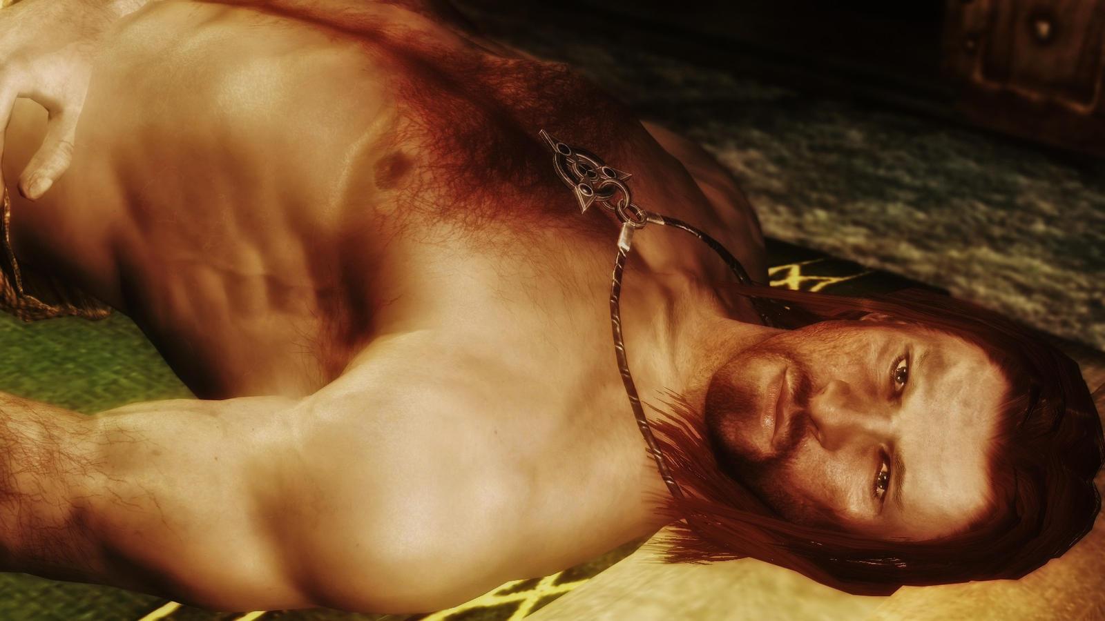 Shirtless Bryn by FireBreathingSkwirls