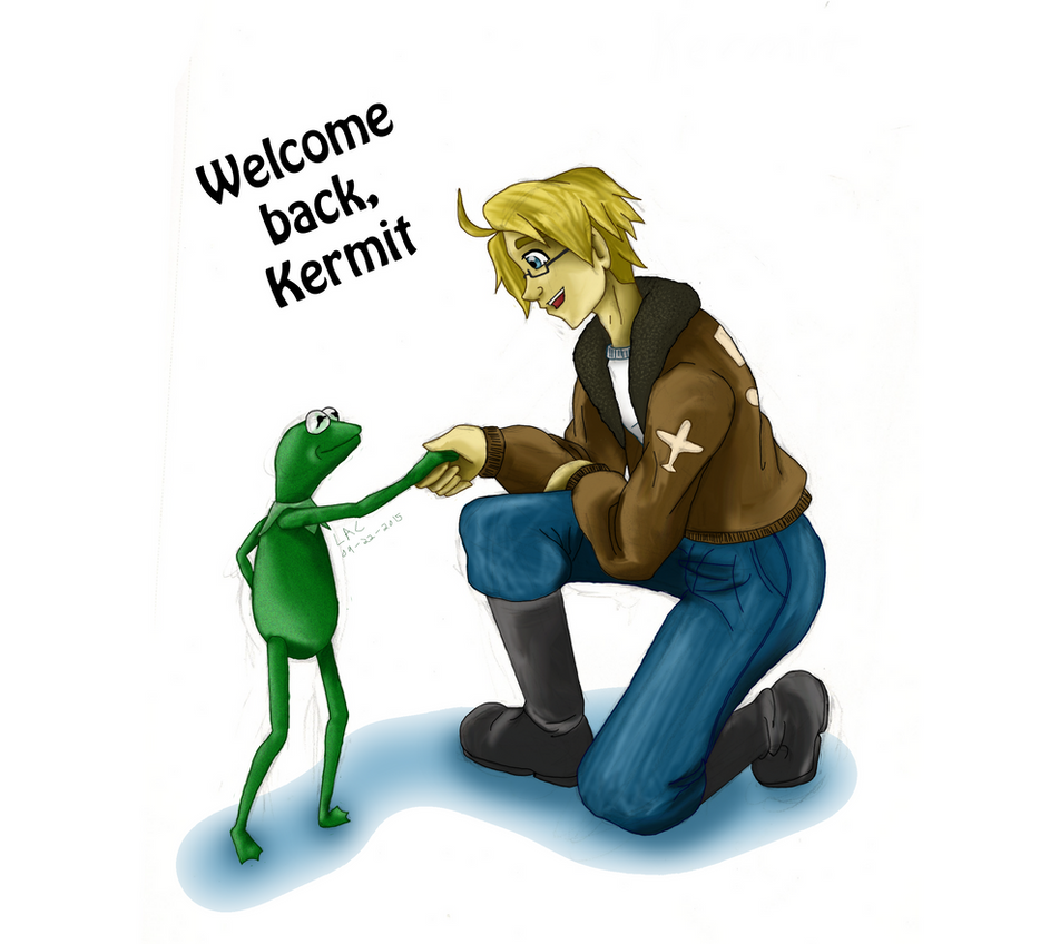 Welcome Back, Kermit by way2thedawn