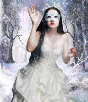 Winter queen by RankaStevic
