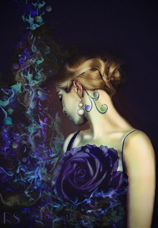 Purple Rose by RankaStevic
