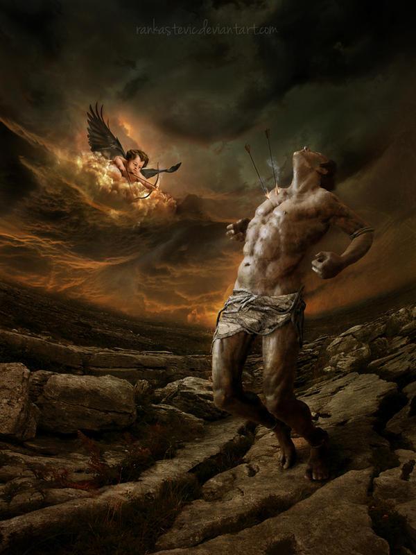 Dark Cupid by RankaStevic