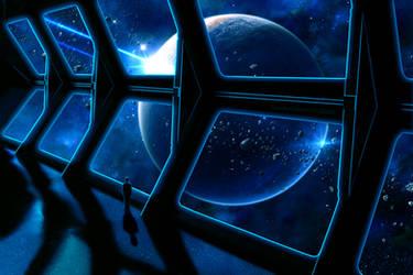 Space traveler by RankaStevic