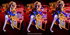 D.Va - Full Suit III by RizzyCosArt