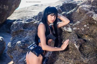 Satsuki [Nudist Beach Uniform] by RizzyCosArt