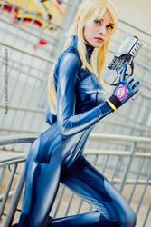 Zero Suit Samus V by RizzyCosArt